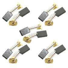 5 Pairs Carbon Brushes For Makita CB303 191963-2 2107F 9903 9227CB GA5021 LS0714