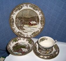 Johnson Brothers  The Friendly Village 5 Piece Place Setting  new in Box