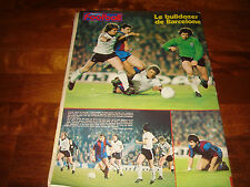 FRANCE FOOTBALL MARCH 1979 SPECIAL EURO CUPS (BARCA-IPSWICH, GRASSHOPPER-FOREST)