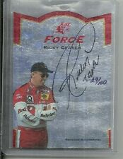 1997 SPx Racing - RICKY CRAVEN - Force Autograph SF3 #d 29/100