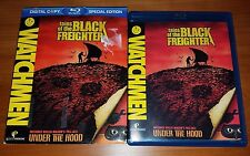 Watchmen Tales of the Black Freighter & Under the Hood BLU RAY w/ Slipcover