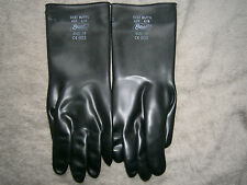 Best 100% BUTYL RUBBER GLOVES 878 MADE IN GERMANY CHEMICAL RESISTANT SIZE 10