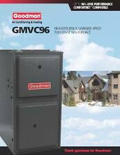 Goodman 96% Two Stage Variable Speed 120K BTU Gas Furnace up to 5 Ton