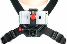 Chest Camera Mount for All Smartphones, GoPros, and Digital Cameras, Universal
