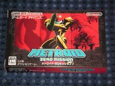RARE! NEW GBA METROID ZERO MISSION Game Boy Advance Nintendo JAPAN FREE AIR SHIP