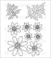 Heartfelt Creations Cling Stamp Set - Delightful Daisies  HCPC-3656