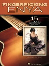 Fingerpicking Enya Songs For Solo Guitar Learn to Play Pop TAB Music Book Tunes