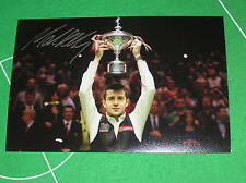 'The Jester From Leicester' Mark Selby Signed 2014 Snooker World Champion Photo