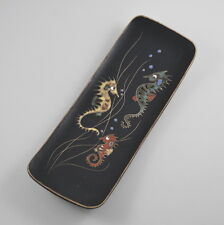 Ruscha #740 Wandbild - Wandplatte - Seepferdchen - Vintage - Keramik - Seahorse