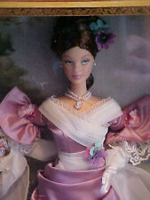 Mademoiselle Isabelle Barbie Doll in  Art  Frame 2001 NRFB A Beauty! Portrait
