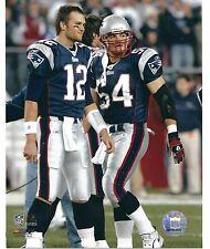 Tom Brady / Tedy Bruschi New England Patriots Photo 8x10