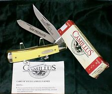 "Camillus 717 Knife Yello Jaket Kar Products NOS 4-1/8"" Cl. W/Packaging,Papers"
