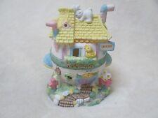 """Easter Egg Village JoAnn's Ceramics """"Grocery"""" 1994"""