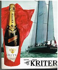 Publicité Advertising 1976 Le Vin Mousseux Kriter