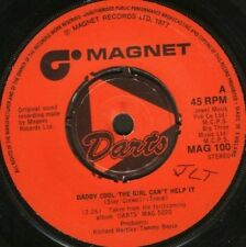 "DARTS daddy cool  the girl can't help it 7"" WS EX/ uk wol"