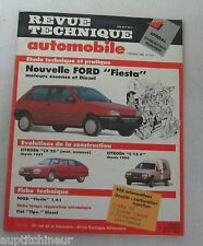 Revue technique automobile RTA 512 1990 Ford fiesta essence & diesel