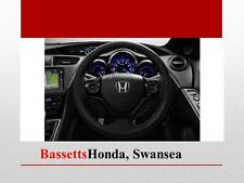 GENUINE HONDA CIVIC 2015 STEERING WHEEL DECORATION SHINY BLACK