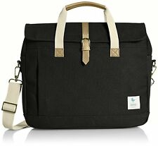 ESPEROS Baldwin Porter Brief Black Messenger Laptop Bag NEW! Water/Stain Proof