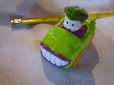 Fisher Price Little People Wheelies DC Super Friends Joker Car Figure Vehicle 1