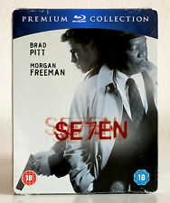 Se7en (Seven, Premium Collection) Blu-ray, New, OOP, Brad Pitt