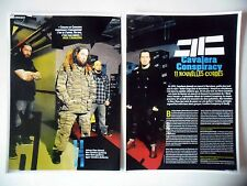 COUPURE DE PRESSE-CLIPPING : CAVALERA CONSPIRACY [5pages] 2011 Interview,Blunt