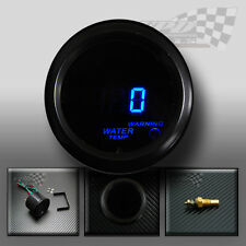 "Temperatura del agua/Temp calibre 2""/52mm ahumado FACE Universal Para Custom Dash Pod"