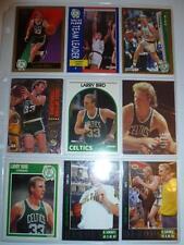 ca. 40 verschiedene Trading Cards von Larry Bird Basketball