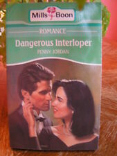 Mills and Boon Vintage Books - DANGEROUS INTERLOPER by penny jordan