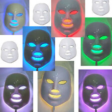 Skin Rejuvenation Light Therapy Reduces Wrinkles 7 Colors LED Photon Facial Mask
