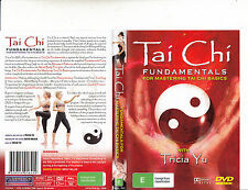 Tai Chi-Fundamentals For Mastering Tai Chi Basics:With Tricia Yu-Tai Chi-DVD