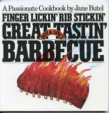 Finger Lickin' Rib Stickin' Great Tastin' Barbecue - Hot & Spicy