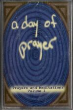 "A DAY OF PRAYER ""PRAYERS AND MEDITATIONS: VOLUME 1"" CASSETTE 1998 sealed b"