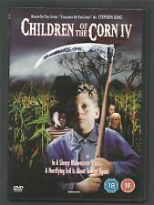 CHILDREN OF THE CORN IV : THE GATHERING - UK REGION 2 DVD - (NUMBER 4 IN SERIES)