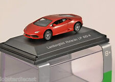 LAMBORGHINI HURACAN LP610-4 in Red 1/87 scale model WELLY