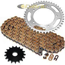 Golden O-Ring Drive Chain & Sprockets Kit Fits SUZUKI GSX-R1000 GSXR1000 2001-08