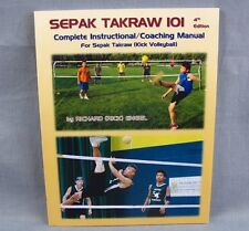 Sepak Takraw Complete Instruction Coaching Manual Softcover Kick Volleyball NEW