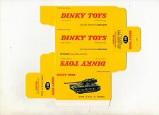 Boîte copie repro Dinky Toys 80C tank AMX 13 tonnes ( reproduction box )