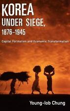 Korea under Siege, 1876-1945: Capital Formation and Economic Transform-ExLibrary