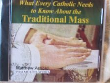 CD What Every Catholic Needs to Know about the Traditional Mass Audio Book