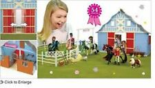Horseland Stable Barn Playset 54 pieces NO horses/riders included NEW!
