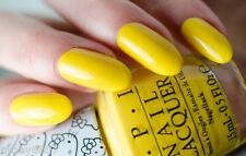New! OPI HELLO KITTY *My Twin Mimmy* Bright Sunny Yellow Nail Polish Lacquer H88