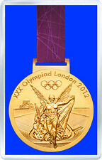 LONDON 2012 OLYMPIC GOLD MEDAL FRIDGE MAGNET IMAN NEVERA