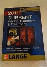 CURRENT Medical Diagnosis and Treatment 2011 (LANGE Series) 50th Anniversary