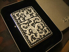 Nice New Old Stock Heavy Plate Marlboro Storming Zippo Lighter