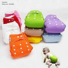 New 10 pcs+12 INSERTS ( Better) AdjustableLot Baby Washable Cloth Diaper Nappies