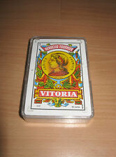 Complete Deck Playing Cards Heraclio Fournier Vitoria Spanish Castilian Advert