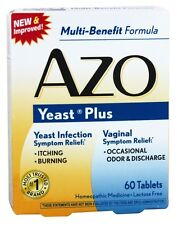 Azo - Yeast Plus Homeopathic Medicine - 60 Tablets
