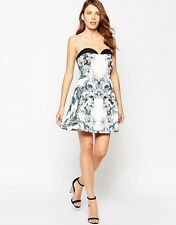 Finders Keepers Final Hope Dress Floral Print Black RRP £154.00 Medium