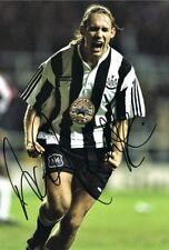 Signed Darren Peacock Newcastle United photo 12x8 The Entertainers NUFC