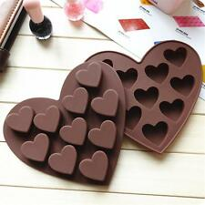 New Heart Silicone Fondant Mould Cake Candy Jelly Chocolate Muffin Baking Mold